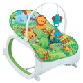 ДЕТСКИЙ ШЕЗЛОНГ - КАЧАПКА - FITCH BABY ( FISHER PRICE ) - INFANT-TO-TODDLER   DE LUXE