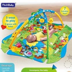 ДЕТСКИЙ ИГРОВОЙ КОВРИК - FITCH BABY ( FISHER PRICE ) - 3 WAYS TO PLAY ( 0 + )